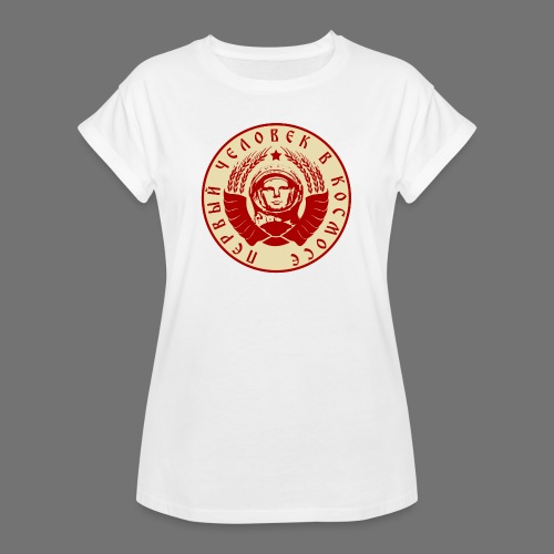 Cosmonaut 2c - Women's Oversize T-Shirt