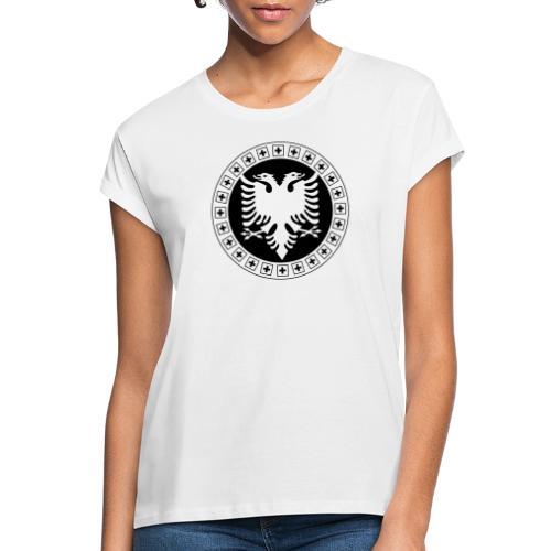 Albanien Schweiz Shirt - Frauen Oversize T-Shirt