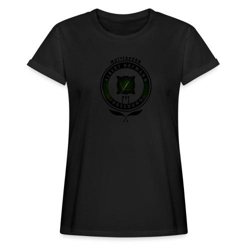 AlbertHofmann_Forschung - Frauen Oversize T-Shirt