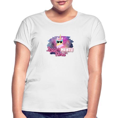 LeggerMENTE Nerd - Maglietta ampia da donna