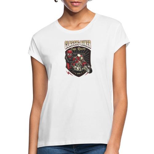 Classic Biker - Maglietta ampia da donna