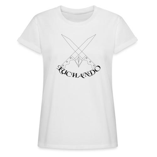 design 1 - Dame oversize T-shirt