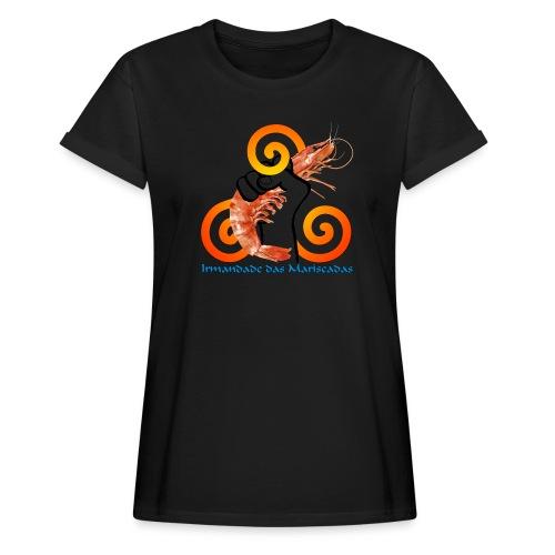 Irmandade das Mariscadas - Camiseta holgada de mujer