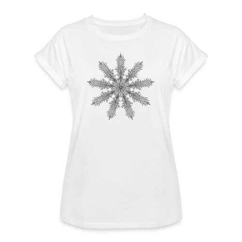 Magic Star Tribal #4 - Women's Oversize T-Shirt