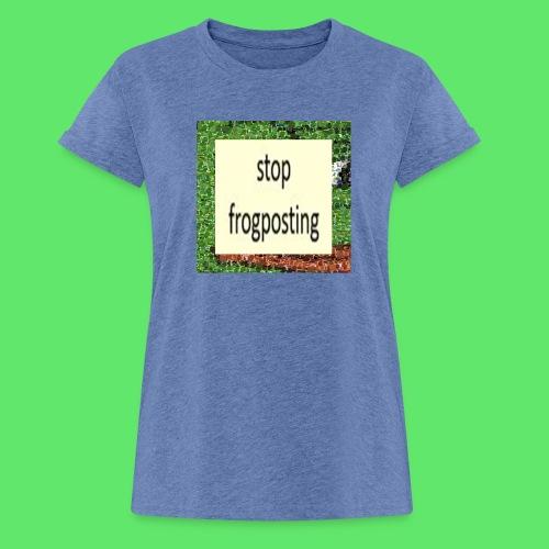 Frogposter - Women's Oversize T-Shirt