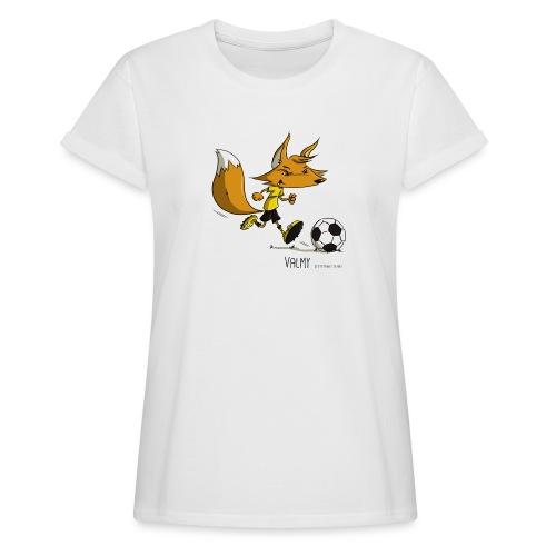 Valmy mascotte - T-shirt oversize Femme