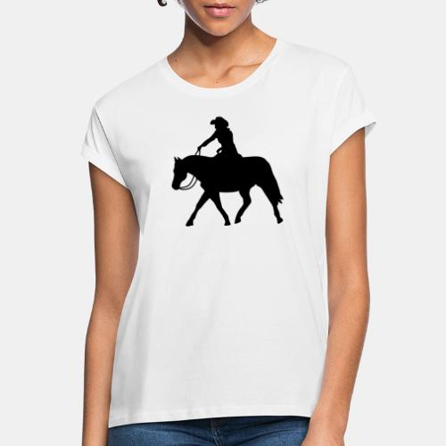 Ranch Riding extendet Trot - Frauen Oversize T-Shirt