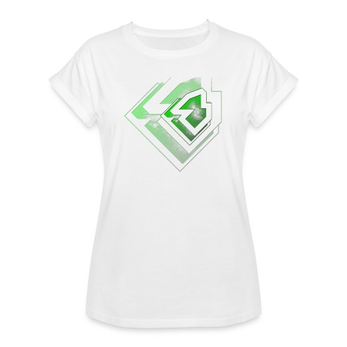 BRANDSHIRT LOGO GANGGREEN - Vrouwen oversize T-shirt
