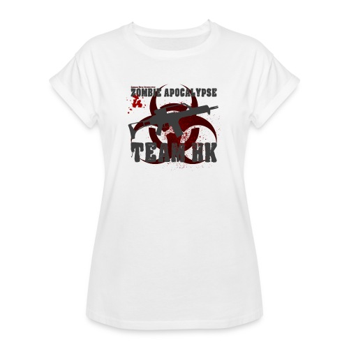 Zombie Apocalypse Team H&K - Frauen Oversize T-Shirt