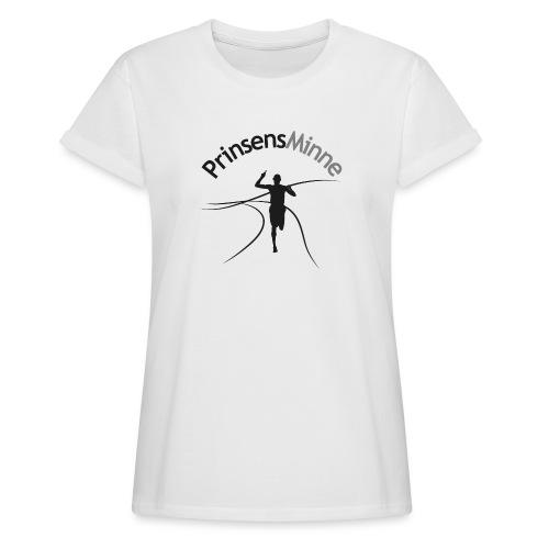 PrinsensMinne logga - Oversize-T-shirt dam