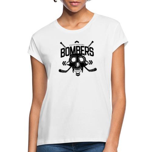 Puistokaari BOMBERS - Naisten oversized-t-paita