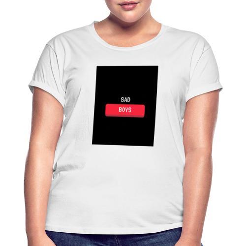 Sad Boys Video Game Pop Culture T - shirt - Camiseta holgada de mujer