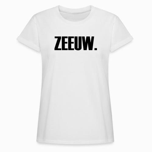 ZEEUW - Lekker Zeeuws - Vrouwen oversize T-shirt