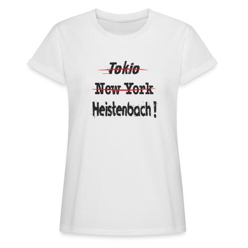 65558 Heistenbach - Frauen Oversize T-Shirt