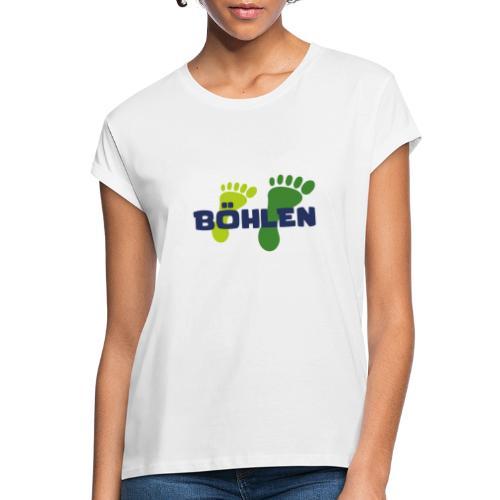 Böhlen läuft. - Frauen Oversize T-Shirt