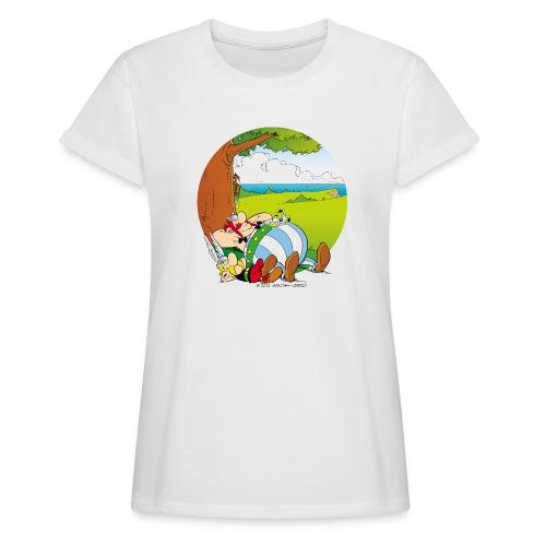Astérix & Obélix Font Une Sieste - T-shirt oversize Femme