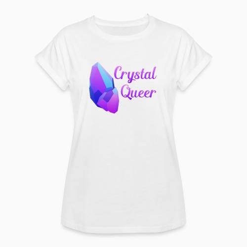 Crystal Queer - Women's Oversize T-Shirt