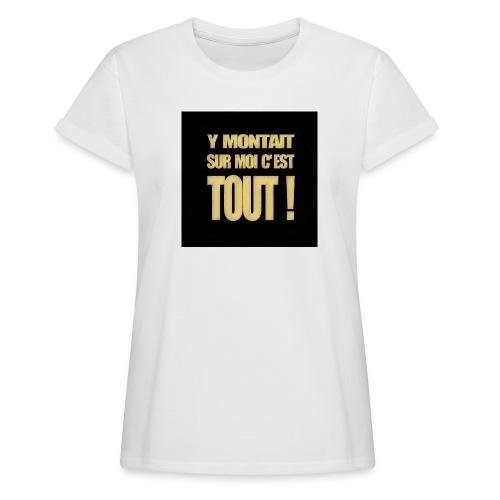 badgemontaitsurmoi - T-shirt oversize Femme