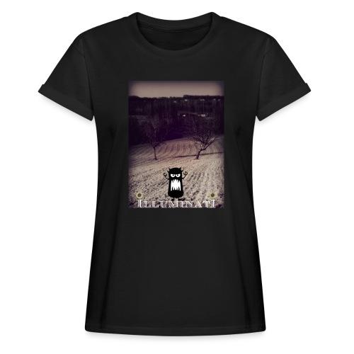 illuminati - T-shirt oversize Femme