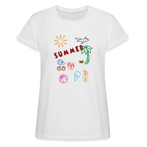 Summer - Naisten oversized-t-paita