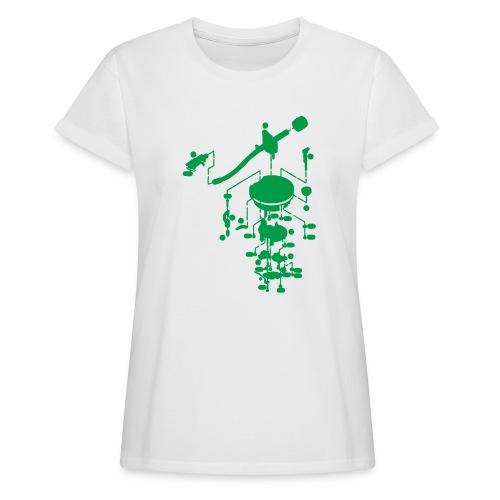 tonearm05 - Vrouwen oversize T-shirt