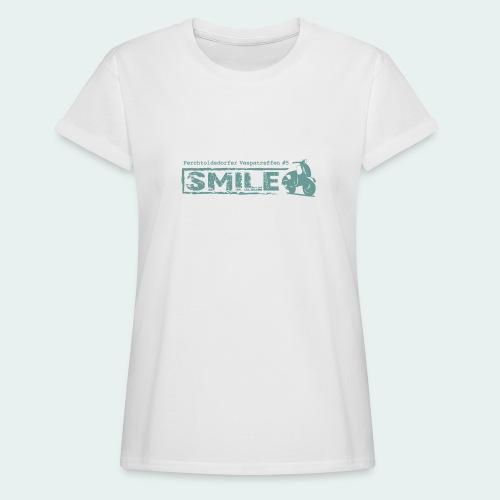 SMILE-Shirt 2018 - Frauen Oversize T-Shirt