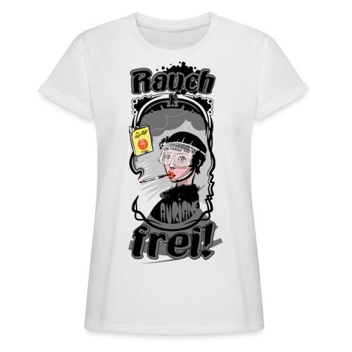 Rauch Frei! - Frauen Oversize T-Shirt
