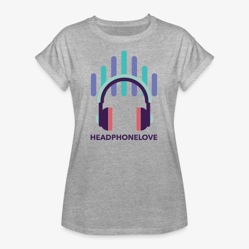 headphonelove - Frauen Oversize T-Shirt