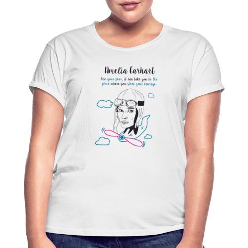 Amelia Earhart - Maglietta ampia da donna
