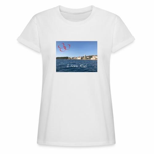 I love Rab - Frauen Oversize T-Shirt