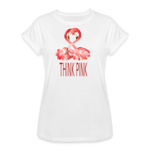 Flamingo - Frauen Oversize T-Shirt