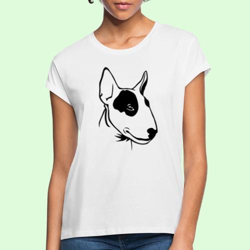 Bull Terrier - T-shirt oversize Femme