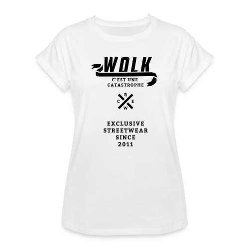 varsityx04 - Vrouwen oversize T-shirt