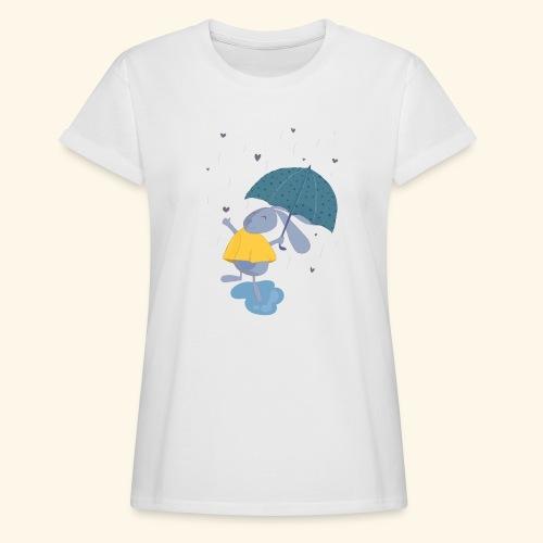 happy in the rain - Women's Oversize T-Shirt