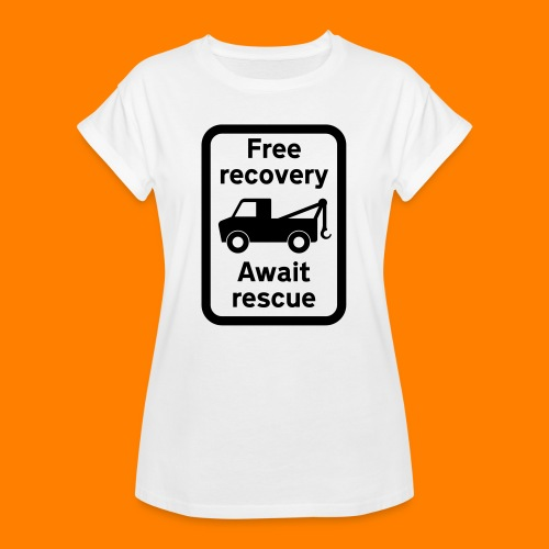 free recovery - Women's Oversize T-Shirt