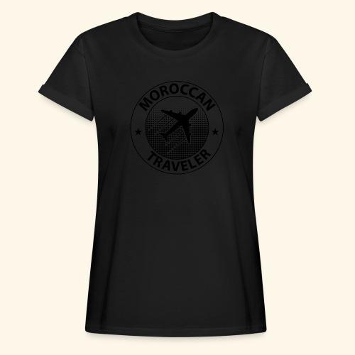 Moroccan Traveler - T-shirt oversize Femme
