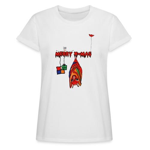 Merry X-MAS - Frauen Oversize T-Shirt