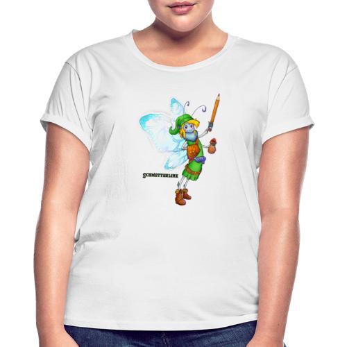Schmetterlink - Frauen Oversize T-Shirt