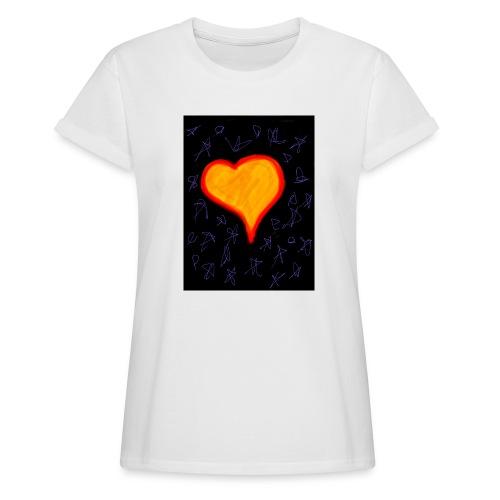 EBB28264 DA7C 4733 A693 59A1BA509DDC - Dame oversize T-shirt