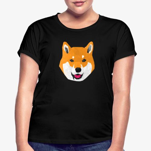 Shiba Dog - T-shirt oversize Femme