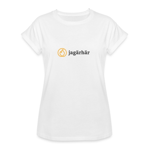 #jagärhär - Oversize-T-shirt dam