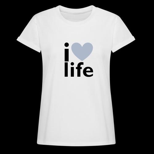 iLOVE clothing range - Women's Oversize T-Shirt