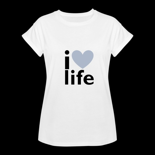 iLOVE clothing range - Women's Oversize T-Shirt