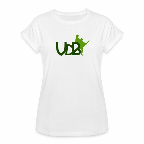 VdB green - Maglietta ampia da donna