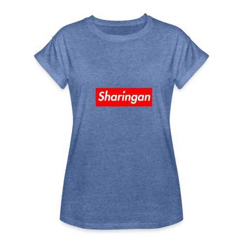 Sharingan tomoe - T-shirt oversize Femme