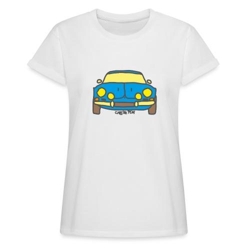 Voiture ancienne mythique française - T-shirt oversize Femme