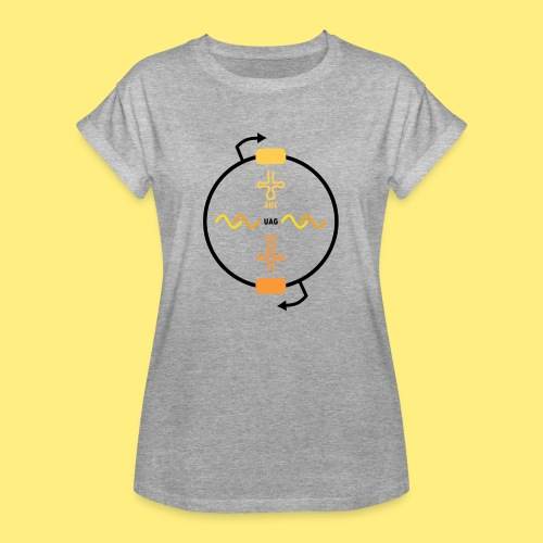 Biocontainment tRNA - shirt women - Vrouwen oversize T-shirt