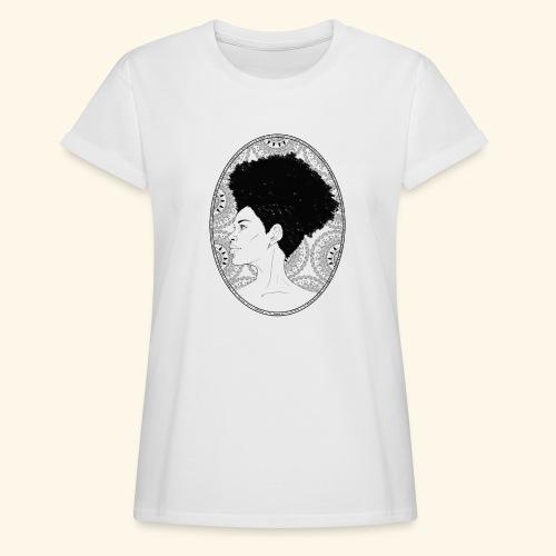 afro-mandala - Maglietta ampia da donna
