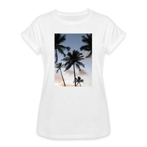 PALMTREES DOMINICAN REP. - Vrouwen oversize T-shirt