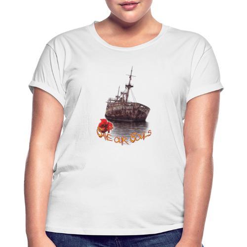SaveOurSouls - Frauen Oversize T-Shirt